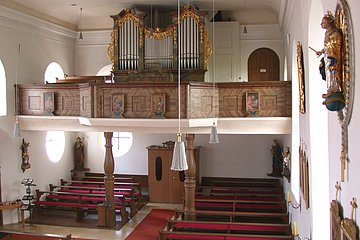 Kirchenburg Kinding Orgel