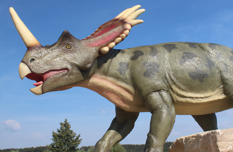Dinosaurier Freiluftmuseum
